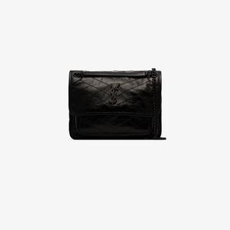 Saint Laurent Black Niki chain strap bag