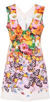 Clover Canyon Butterfly Petals Mini Dress