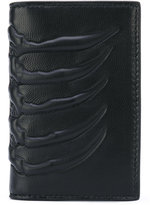 Alexander McQueen textured wallet - men - Calf Leather - One Size