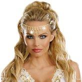 Dreamgirl Women's Glittering Rhinestone Headpiece