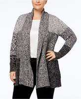 Charter Club Plus Size Shawl-Collar Cardigan, Created for Macy's