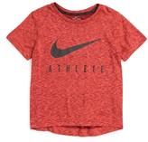Nike Toddler Boy's Athlete Dri-Fit Graphic T-Shirt