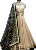 BHARAT MULTI STORE Indian Designer Chiku Suit Benglory Bollywood Lehenga (Rk-10)