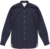 Denham Rhys Denim Shirt, Dark Indigo