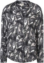 L'Agence camouflage print shirt