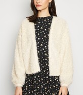 New Look Fluffy Fine Knit Cardigan