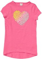 S'Oliver Girl's Crew Neck 1/2 Sleeve T-Shirt