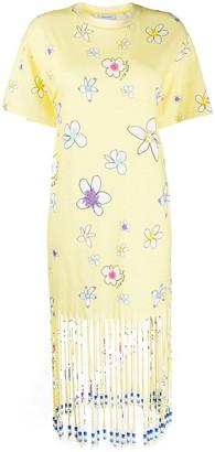 Mira Mikati floral print T-shirt dress