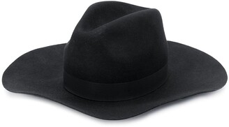DSQUARED2 Knitted Wide Brim Fedora Hat