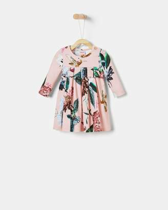 Ted Baker ZALINIA Floral pleated dress