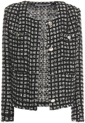 IRO Tetys Metallic Boucle-tweed Jacket