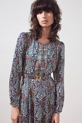 Suncoo Carrine Floral Dress - T1