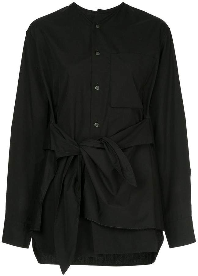 Y's knot detail shirt