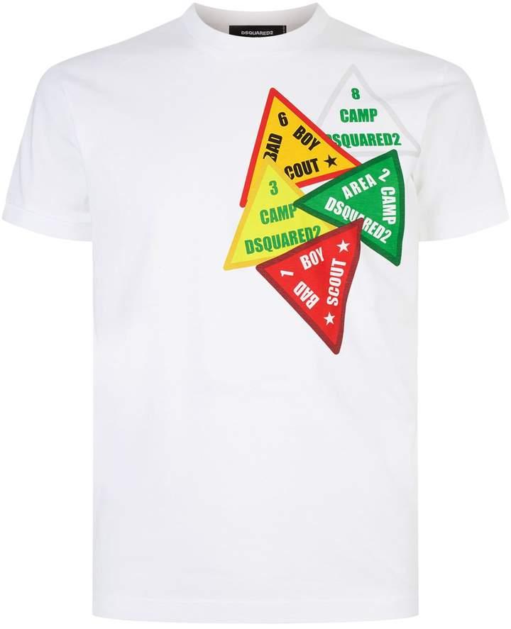 DSQUARED2 Scout Badges T-Shirt