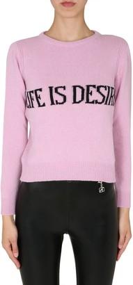 Alberta Ferretti Crew Neck Sweater