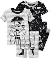 Carter's 4-Pc. Pirates Pajama Set, Toddler Boys (2T-5T)