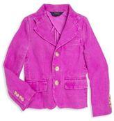Ralph Lauren Toddler's & Little Girl's Linen Blazer