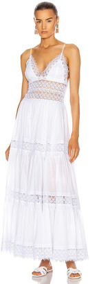Charo Ruiz Ibiza Cindy Dress in White | FWRD