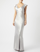 Monsoon Narcissus Ruffle Maxi Dress