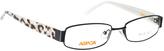 Black & Swarovski® Crystal Eyeglasses
