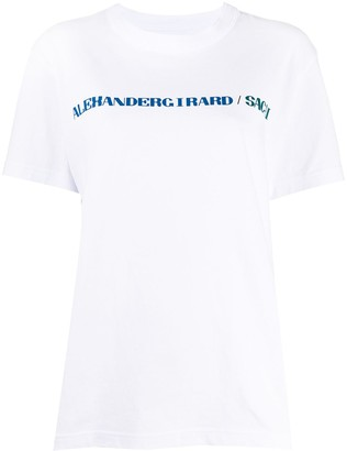 Sacai graphic print T-shirt