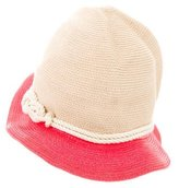 Eugenia Kim Straw Bucket Hat