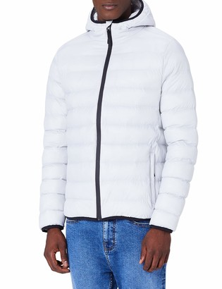 Meraki Amazon Brand Men's Puffer Jacket with Hood