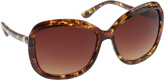 Jessica Simpson Women's J5387 Oversized Rectangle Sunglasses