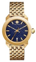Tory Burch Whitney Watch, Gold-Tone/Navy, 35 Mm
