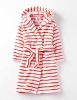 Cosy Dressing Gown Light Coral Stripe Girls Boden
