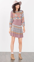 Esprit OUTLET edc multi pattern flowing dress