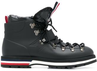 Moncler Blanche combat boots
