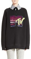 Marc Jacobs Women's X Mtv Logo Sweatshirt