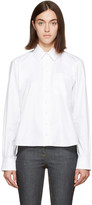 Carven White Long Sleeve Shirt
