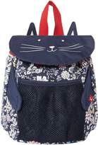 Joules Girls Ditsy Cat Rucksack