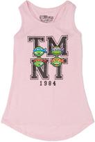 Freeze Pink Heather 'TMNT' Racerback Tank - Girls