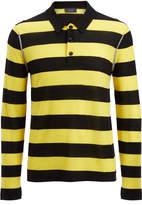 Joseph Light Stripe Rugby Polo
