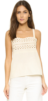 The Great The Eyelet Cami