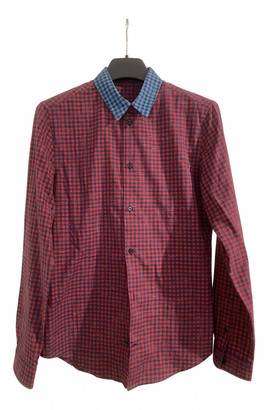 Carven Red Cotton Shirts