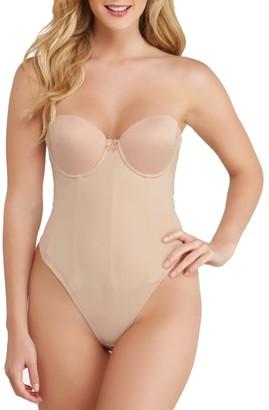 Va Bien Strapless Low Back Slimming Bodysuit