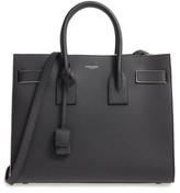 Saint Laurent Small Sac De Jour Leather Tote - Black