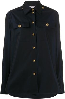 Givenchy Logo Button Shirt