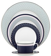 Kate Spade Mercer Drive Platinum 5 Piece Place Setting