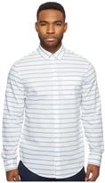 Original Penguin Long Sleeve Horizontal Jaspe Woven Shirt