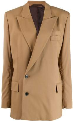 A.F.Vandevorst double-breasted fitted blazer