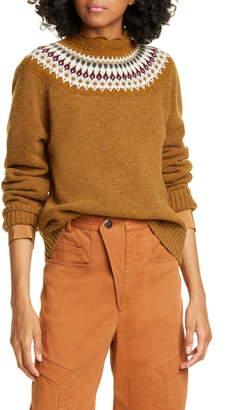 Sea Bric Fair Isle Wool Sweater