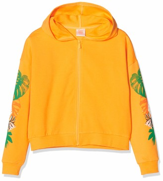 Tuc Tuc Orange Plush Hoddie for Girl Party Animal