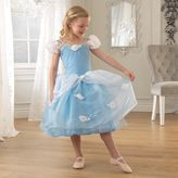Kid Kraft Girls Dress-Up Blue Rose Princess Dress