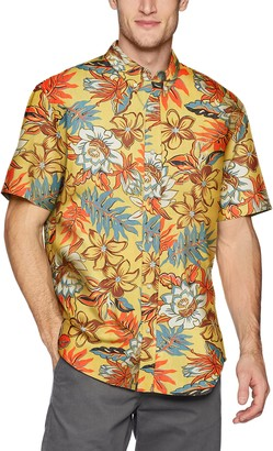 Reyn Spooner mens Vintage Hawaiian Tailored Fit Button Down Shirt