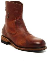Blackstone Back Zip Leather Boot